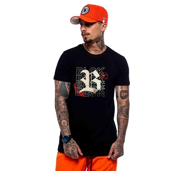 Camiseta Blck All Black Blck Contour