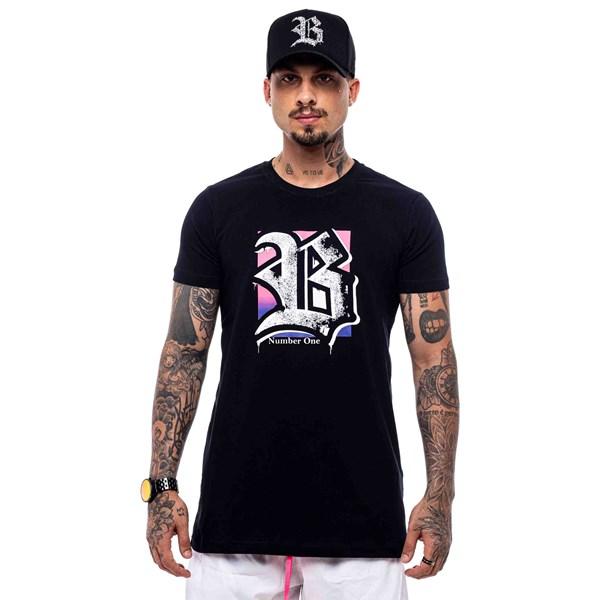 Camiseta Blck All Black Number One Spray