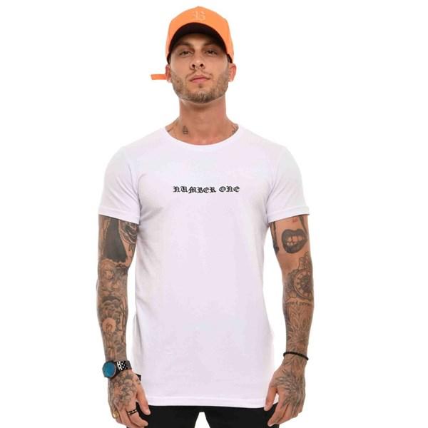 Camiseta Blck Number One Art White