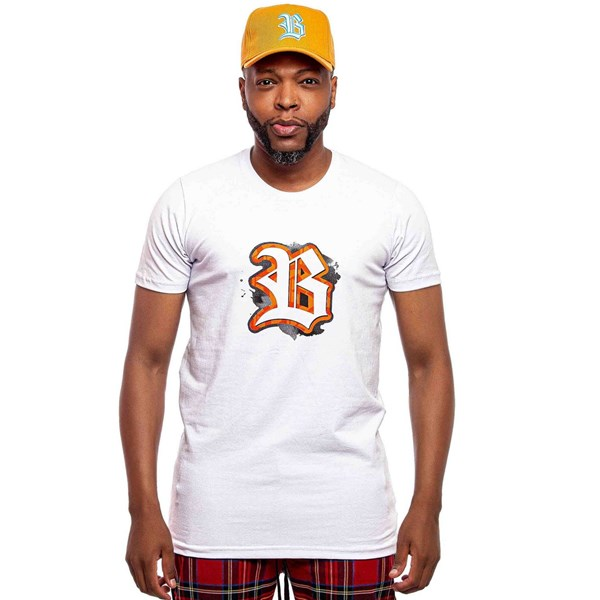 Camiseta Blck Paint White