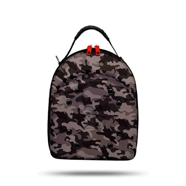 Case Cap Blck Camouflage Gray