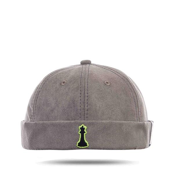 Chapéu Docker Hat by Dani Alves - Basic Cinza - Good Crazy x Blck Brasil