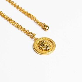 Corrente Lion Dourado