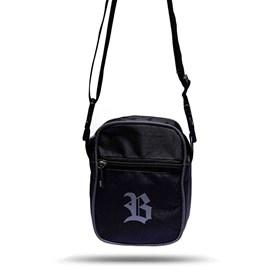 Shoulder Bag Black Reflected