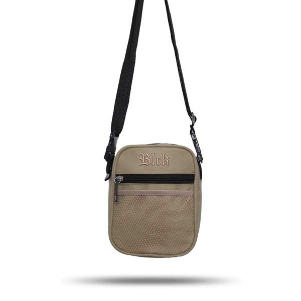 Shoulder Bag Blck Basic Bege